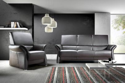 Barcelona - Leather 2 seater leather sofa