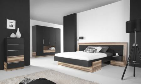 Paris B - Bed + Chest of drawers