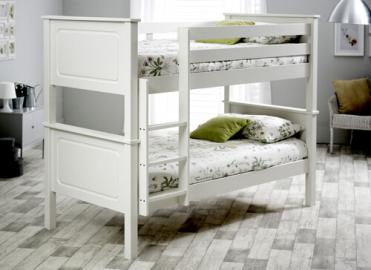 Bedmaster White Ashley Bunk Bed -