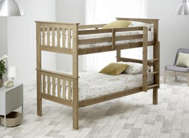 Bedmaster Pine Carra Bunk Bed -