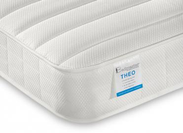 Bedmaster Theo Pocket Sprung Low Profile Mattress - Small Single (2'6 x 6'3)