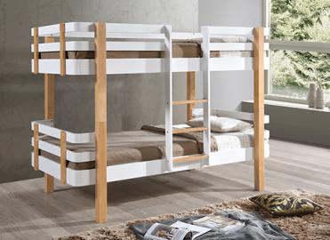 Bedmaster Hudson Bunk Bed - Single (3' x 6'3)