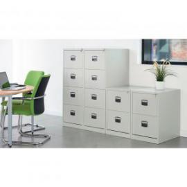 2 drawer filing cabinet H711mm