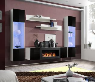 Idea M3 - living room unit with fireplace