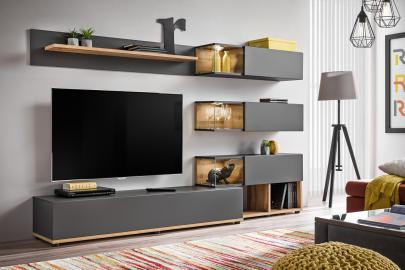 Simi - modern entertainment center