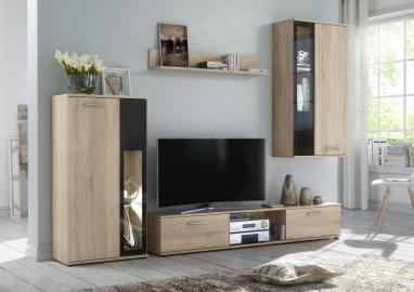 Waco - television wall unit