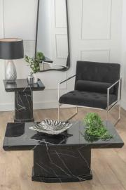 Bern Black Marble Coffee Table