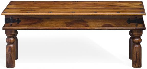 Wood Jali Sheesham Coffee Table - W 115cm