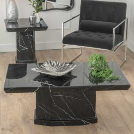 Urban Deco Naples Black Marble Coffee Table