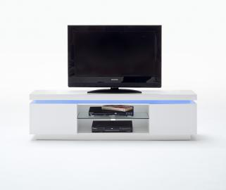 TV STAND Ocean type 80 - white entertainment center cabinet