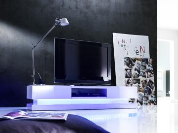 Step - tv media stands with LED