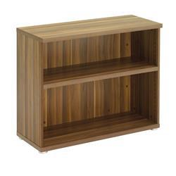 Regent Low Bookcase - Dark Walnut - TR8040DW