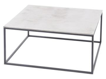 Argenta Silver Metal Coffee Table