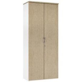 Arista 1900mm Tall Cupboard Four Shelves Oak KF74311