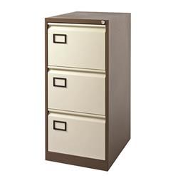 Toccata 3 Drawer Filing Cabinet Coffee/Cream KF03004