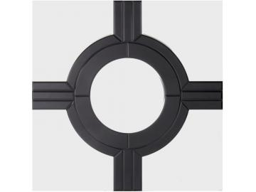 Crosshairs Wall Mirror