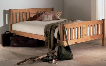 Limelight Sedna Wooden Bed Frame, Double