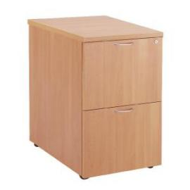 First Filing Cabinet 2 Drawer Beech KF74902