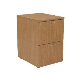 First Filing Cabinet 2 Drawer Oak KF74903