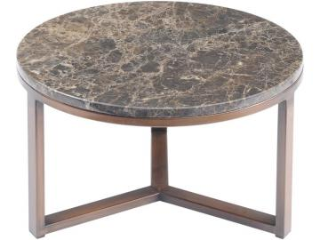 Fitzroy Emperador Brown Marble Coffee Table - Small