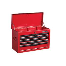 Hilka Heavy Duty 9 Drawer Tool Chest - Red