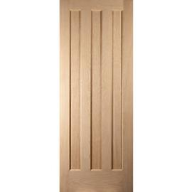 Jeld-Wen Aston Oak 3 Panel Internal Fire Door - 1981mm x 686mm