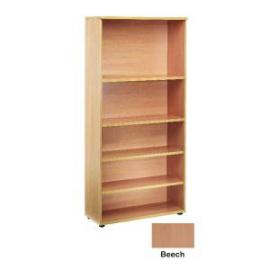 Jemini 1800mm Bookcase 4 Shelf Beech KF838414