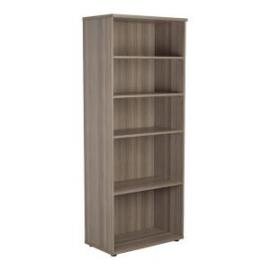 Jemini Grey Oak 2000mm 4 Shelf Bookcase Dimensions W800 x D450 x