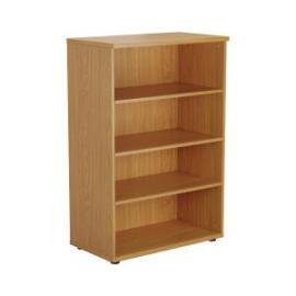 Jemini Oak 1200mm 3 Shelf Bookcase KF840134