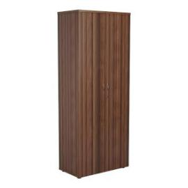 Jemini Walnut 2000mm 4 Shelf Cupboard KF840155