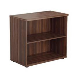 Jemini Walnut 730mm 1 Shelf Bookcase KF840145