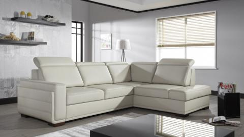 SALVO II - modern corner sofa bed