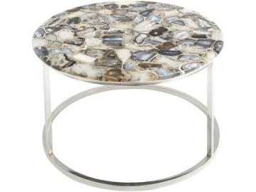 Meso Agate Round Coffee Table