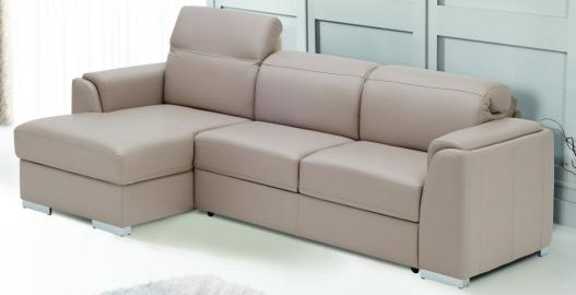 NAPOLI -  Faux Leather corner sofa sale