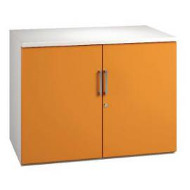 Arista WhiteOrange 730mm Cupboard