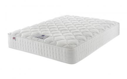 Rest Assured Minerva 2000 Pocket Silk Mattress, Single