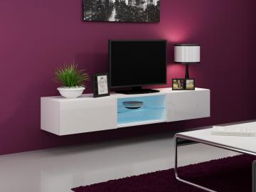 Seattle 41 - white tv media stand