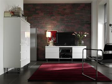 Sydney xl - tv entertainment center with led lights