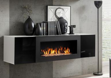 Idea N3 - TV cabinet with fireplace