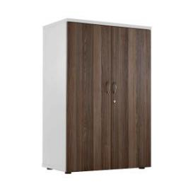 Jemini WhiteWalnut 1200mm Switch Cupboard KF840202