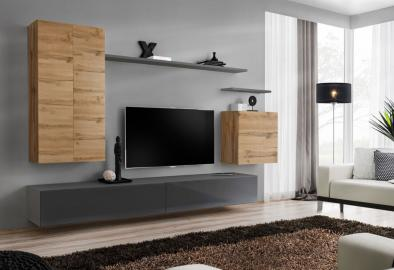 Shift 2 - modern living room wall unit