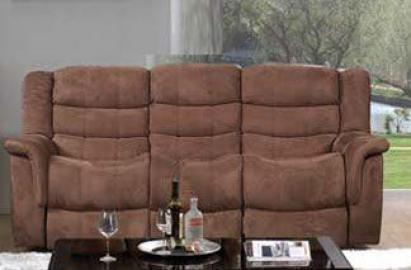 Caray Easy Rider Motion Sofa in Chocolate by Acme Furniture