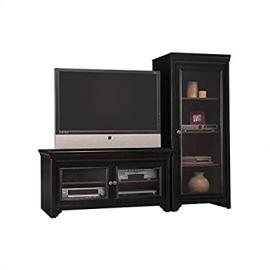 Bush Furniture Stanford Collection TV Stand and Audio Rack
