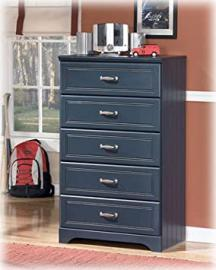 Leo Youth Bedroom Blue Chest
