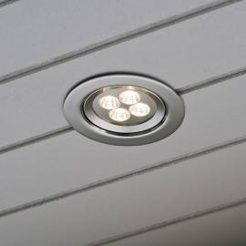 Faretto da incasso a soffitto con Power-LED