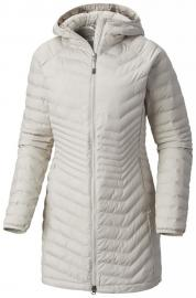 COLUMBIA Płaszcz damski Powder Lite Mid Jacket Light Cloud M