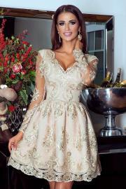 b3a13e83a0 Sukienka koronkowa na wesele dla mamy - Elektropim