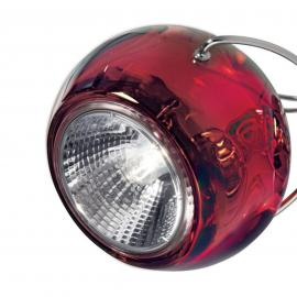 Chique design hanglamp BELUGA COLOUR rood