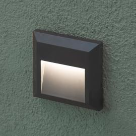 Grant - hoekige LED - outdoor wandlamp