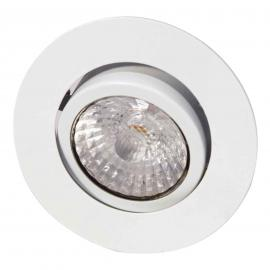 Led-inbouwspot Rico, dim to warm, wit